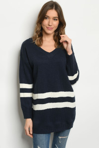 S13-7-1-S50891 NAVY SWEATER 2-2-2
