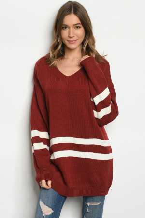 S13-4-1-S50891 RUST SWEATER 2-2-2
