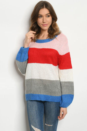 S9-13-1-S8612 MULTI COLOR SWEATER 3-3
