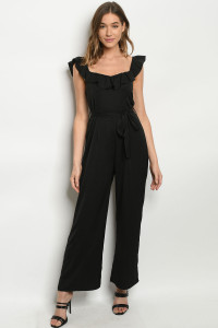 S23-13-2-J81229 BLACK JUMPSUIT 2-2-2