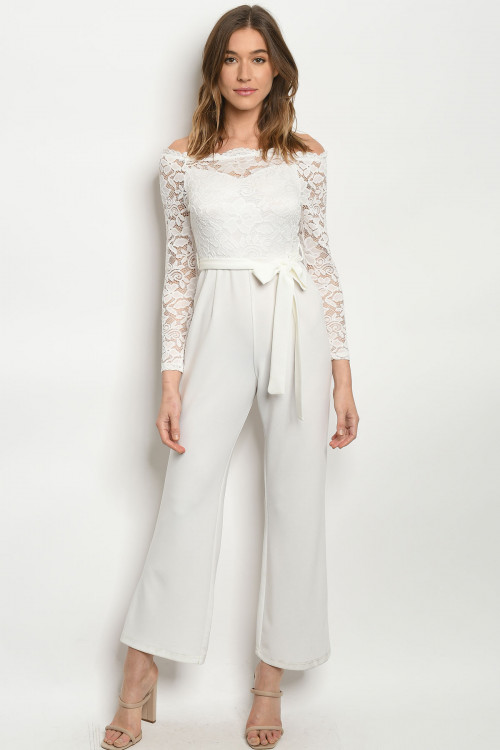 S10-6-2-J10581 WHITE JUMPSUIT 2-2-2