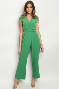 S9-2-1-J32581 GREEN JUMPSUIT 2-2-2