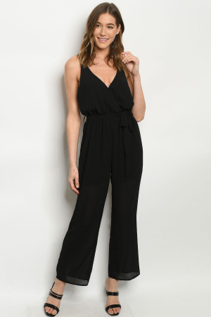 S8-3-3-J51990 BLACK JUMPSUIT 2-2-2