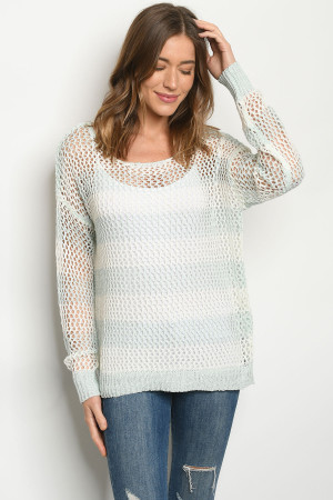 S7-3-1-S0101 IVORY BLUE SWEATER 4-2