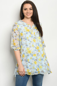 S8-1-2-D12153X BLUE YELLOW  TOP 3-2-1