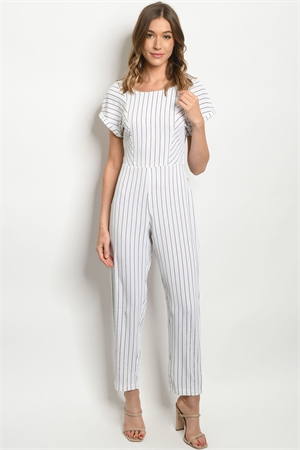 S15-9-2-J53801 OFF WHITE STRIPES JUMPSUIT 3-2
