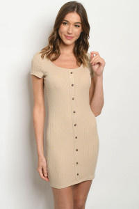 C2-A-1-D193152 TAUPE DRESS 1-1-2-2-1