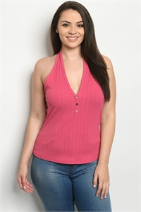 C3-B-2-T1577X BERRY PLUS SIZE TOP 2-2-2