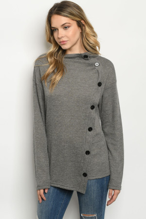 S23-6-2-S1937 GRAY SWEATER 1-2-2-1