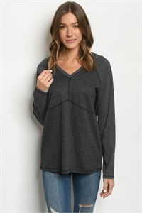 S17-11-3-T24096 CHARCOAL TOP 1-1-1