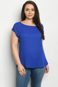 C1-A-1-T7134XA ROYAL PLUS SIZE TOP 1-3-2