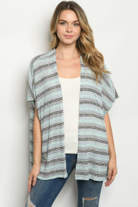 C68-A-1-C6128 MINT MULTI CARDIGAN 2-2