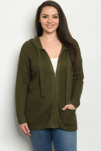 S28-8-1-S1282X OLIVE PLUS SIZE SWEATER 3-3