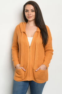 S25-8-1-S1282X MUSTARD PLUS SIZE SWEATER 3-3