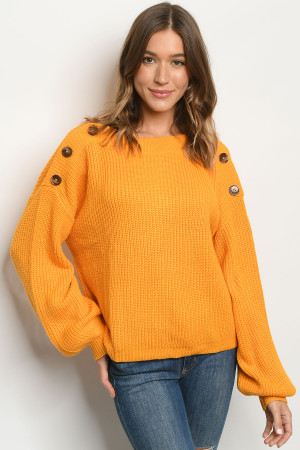 S18-6-2-S1030 YELLOW SWEATER 2-2-2