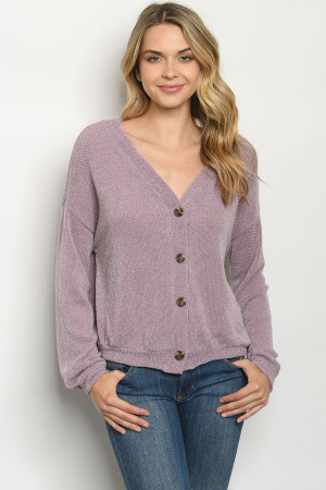S21-4-2-T8356 LAVENDER SWEATER 2-2-2