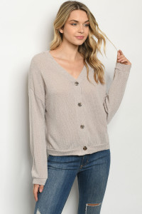 S22-13-1-T8356 TAUPE SWEATER 2-3
