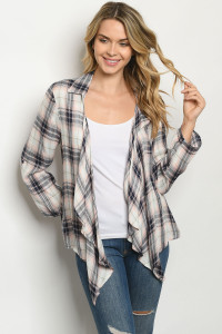 S19-12-2-T2346 BLUSH CHECKERED TOP 5-2