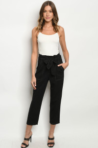 S19-4-2-P2127FCI BLACK PANTS 2-1
