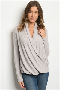 S8-11-2-T2159 LIGHT GRAY TOP 2-2-2