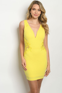 S23-6-3-D67012 YELLOW DRESS 2-2-2