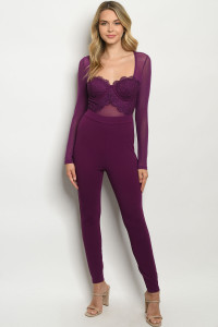 S21-9-1-J92530 PLUM JUMPSUIT 2-2-2