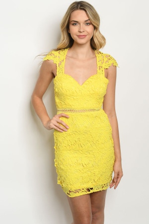 S12-8-2-D62919 YELLOW DRESS 2-2-2
