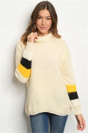S22-6-1-S6602 IVORY SWEATER 2-2-2