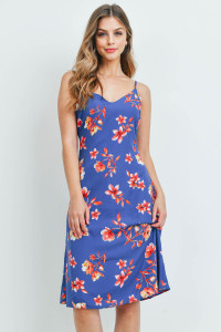 S16-12-2-D50147 ROYAL FLORAL DRESS 3-2-1