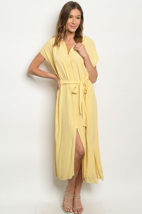 S14-2-2-D20677 YELLOW DRESS 2-2-2