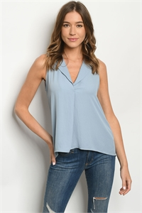 S22-5-2-T51966 DENIM TOP 2-2-2