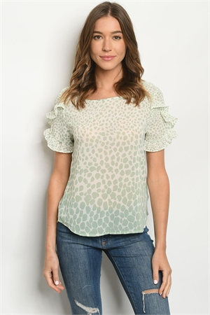 S15-11-4-T51023 SAGE IVORY TOP 2-2-2