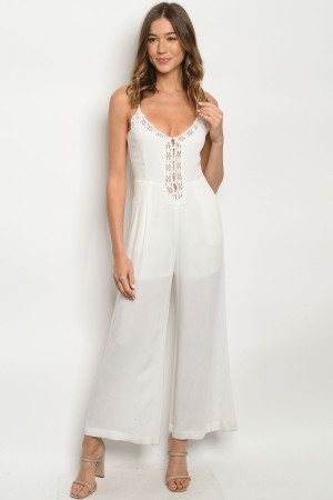 S14-2-2-J9048 OFF WHITE JUMPSUIT 2-2-2