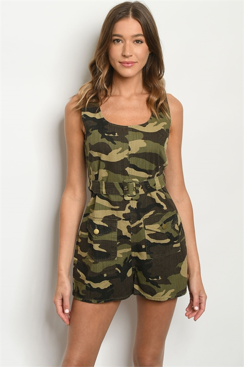 S11-6-1-R8927 CAMOUFLAGE ROMPER 3-2-1