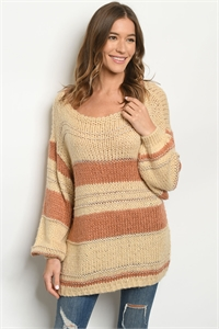 S11-2-1-S11937 CREAM RUST SWEATER 3-3