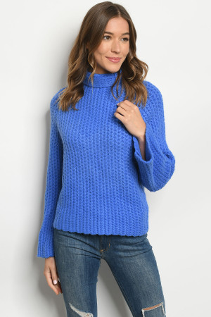 S11-14-1-S11432 BLUE SWEATER 3-3