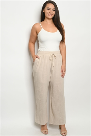 S10-14-2-P4518X NAUTURAL PLUS SIZE PANTS 2-2-2