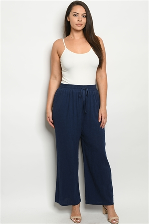 S10-13-1-P4518X NAVY PLUS SIZE PANTS 2-2-2