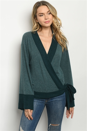 S23-13-2-S180931 GREEN SWEATER 4-3