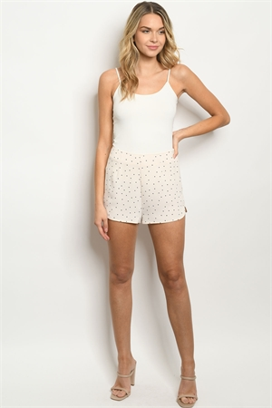 S9-19-4-S40548 SAND NAVY WITH DOTS SHORTS 2-2-2