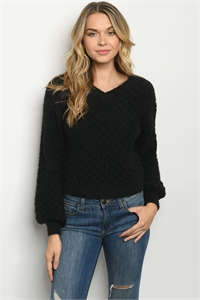 S15-12-2-S90210 BLACK SWEATER 2-2
