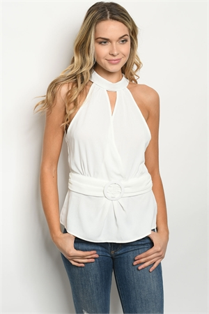 S14-7-3-T55434 OFF WHITE TOP 2-2-2