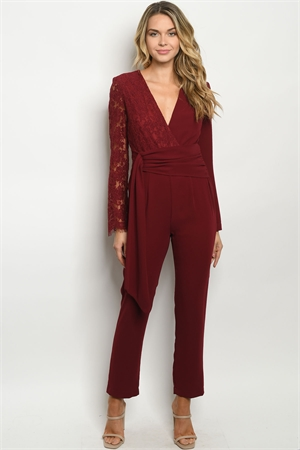 S20-1-2-J90488 BURGUNDY JUMPSUIT 2-2-2