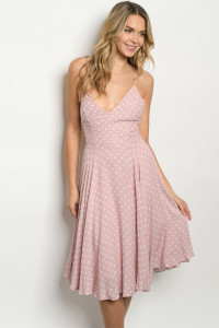 S22-2-1-D74979 BLUSH WITH DOTS DRESS 2-2-2