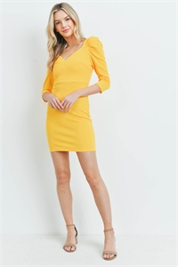 SA3-0-1-D98003 YELLOW DRESS 2-2-2