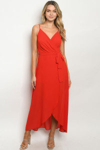 SA4-00-3-J59777 RED JUMPSUIT 2-2-2