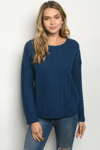 S2-9-1-S1146 TEAL SWEATER 3-3
