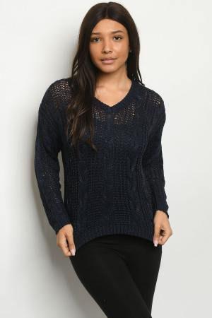 S24-5-2-S2318 NAVY SWEATER 3-3