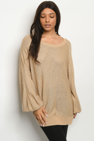 S8-14-1-T170138 TAUPE TOP 2-2-2