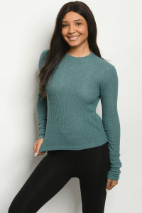 S15-12-4-T181672 TEAL TOP 2-2-2